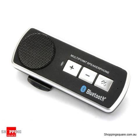 Bluetooth Speaker Car Kit new bluetooth multipoint speakerphone wireless car kit sun visor clip