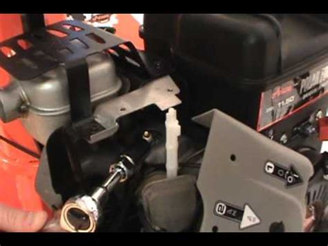 Changing The Spark Plug Ariens Two Stage Snow Blower