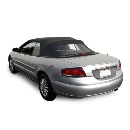 1999 Chrysler Sebring Convertible Top Replacement Chrysler Sebring Convertible Soft Top Black Sailcloth Vinyl