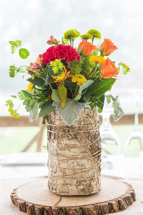 Casual and Elegant Fall Wedding   The flowers, Vases and