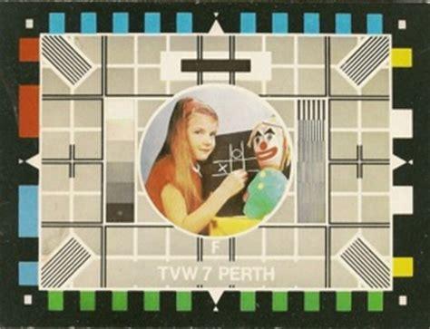 tv test pattern australia western australian television history wa tv history