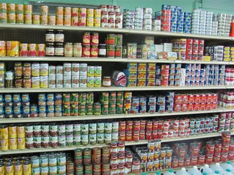 Shelf Canned Goods by Shelves Of Canned Goods Picture Of O War Cay