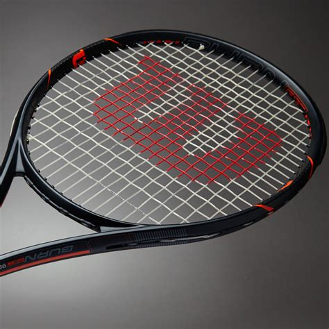 Raket Wilson raket tenis wilson burn fst 99 matte black orange