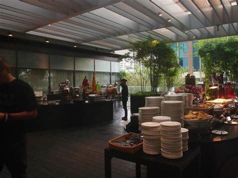buffet breakfast area picture of studio m hotel
