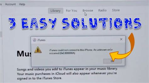 iphone 0xe80000a 0xe80000a or 0xe800000a error fixed iphone to windows pc itunes error 3 fixes