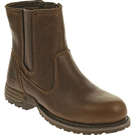 cat s freedom pull on steel toe work boots 678130
