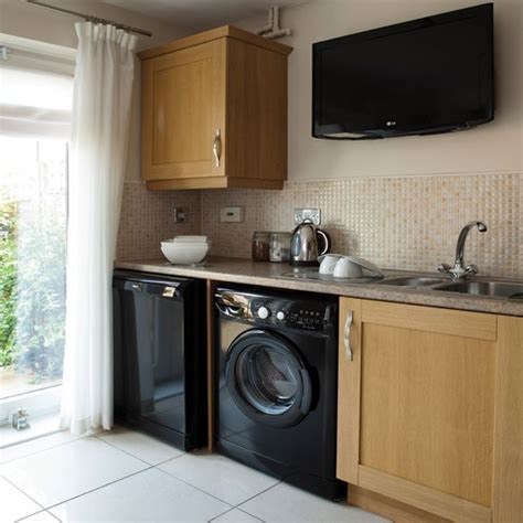 Kitchen Utilities kitchen utility area real homes modern new build leeds town house housetohome co uk