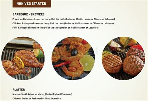 Barbeque Nation Menu Menu For Barbeque Nation Kirludi Barbeque Nation Buffet Price
