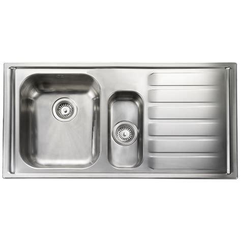 rangemaster kitchen sinks rangemaster manhattan 1 5 bowl stainless steel kitchen