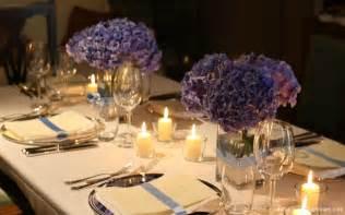 wedding centerpieces hydrangeas purple hydrangea centerpieces on weddings