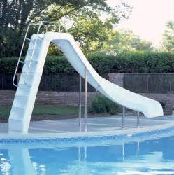 rutsche schwimmbad ride inground pool slide