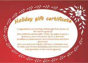 Gift Certificate Terms And Conditions Template by Best Photos Of Gift Voucher Template