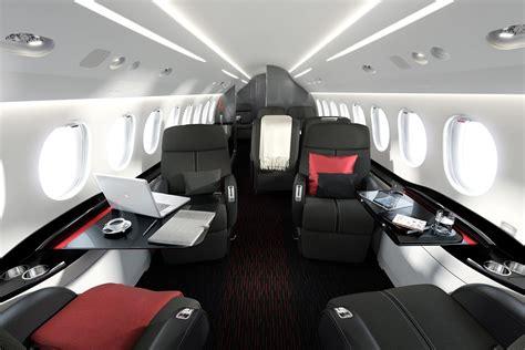 Falcon 7x Interior by Dassault Falcon 7x