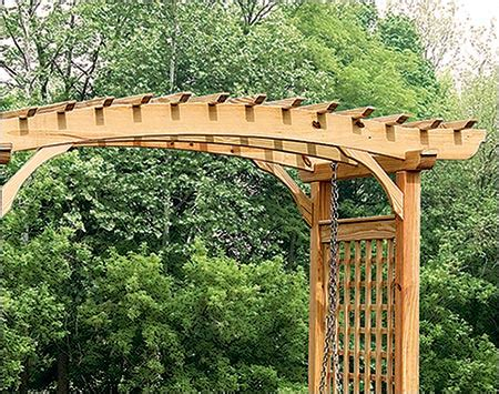 pine swing sets treated pine greenfield arbor and swing set