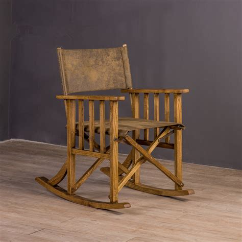 wooden folding directors chair folding rocking chair loft style furniture indoor outdoor