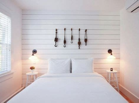 Wainscoting Panels Diy Shiplap Paneling On One Wall Of The Master Bedroom Lower