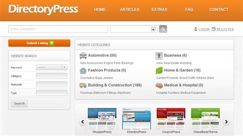 top best 50 classifieds directory wordpress templates