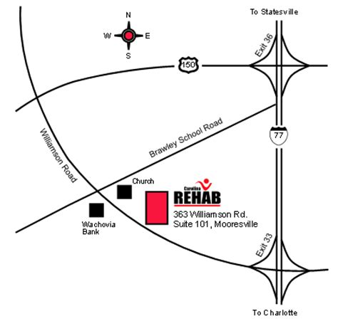 Nc Detox Directions by Carolina Rehab Locations