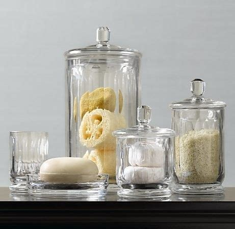 Bathroom Glass Storage Jars 30 Best Images About Bathroom On Pinterest Wall Mount Jars And Toothbrush Holders