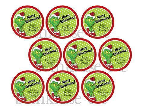 free printable grinch gift tags beth kruse custom creations merry grinchmas