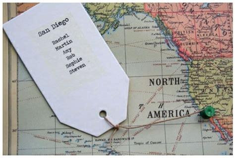 world map wedding seating plans