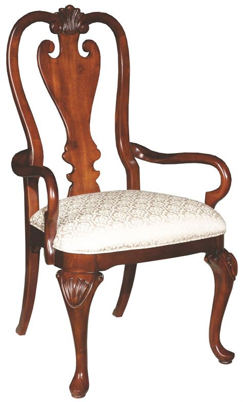 queen anne armchair carriage house queen anne arm chair 60 062n kincaid furniture
