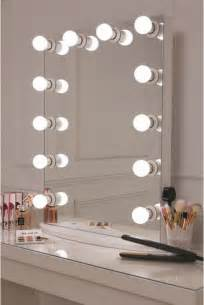 Vanity Lights Canada Vanity Mirror With Light Bulbs Around It Lightupmyparty