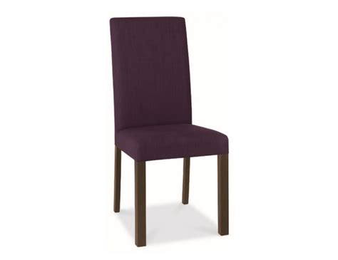Plum Dining Chairs Walnut And Plum Upholstered Dining Chairs