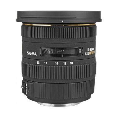 Lensa Canon Hitam Putih jual sigma 10 20mm f 3 5 ex dc hsm autofocus zoom lensa kamera for canon hitam harga