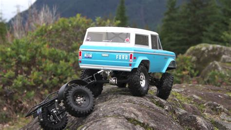 Ford Bronco Rc Rock Crawler by Rock Crawling Rc Bronco Pulls Trailer Everything