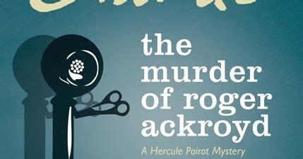 libro the murder of roger libros y misterios el asesinato de roger ackroyd agatha
