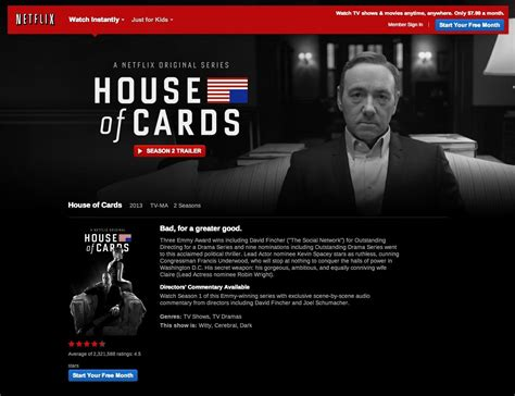 Is House Of Cards On Netflix by 5 Ways To House Of Cards On The Big Screen