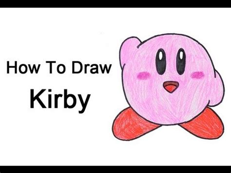how to create doodle how to draw kirby