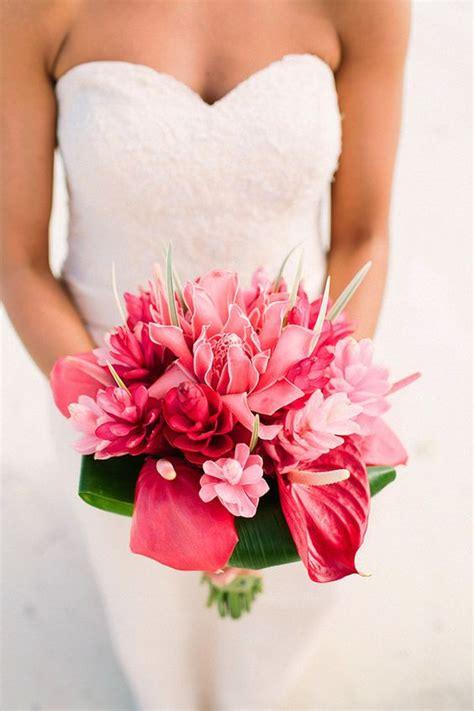 Tropical Wedding Flowers by Tropical Bridal Bouquets Arabia Weddings