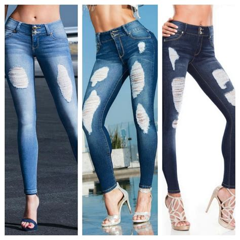 jeans para mujer newhairstylesformen2014 com jeans rotos para dama dise 241 o colombiano 1 150 00 en