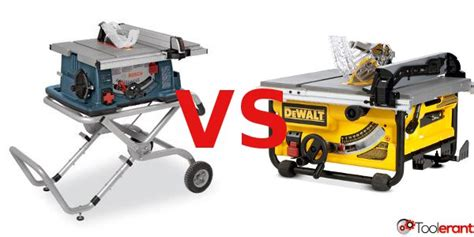 bosch portable table saw the best portable table saw dewalt dw745 or bosch 4100 09
