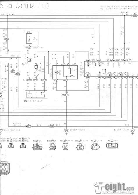 toyota celsior wiring diagram