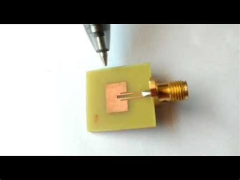 small microstrip patch antenna for future 5g application in rf mwe hfss