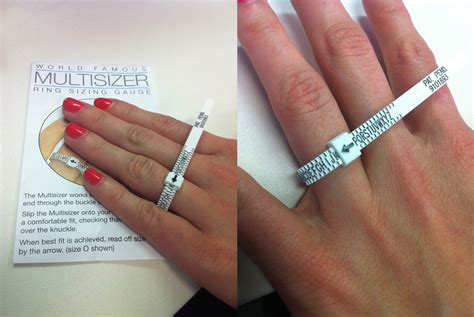 how to measure girth want to your ring size articles easy weddings