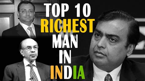 top 10 richest in india 2017 updated list