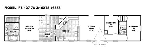 single home plans bedrooms 3 bedroom single wide mobile home floor plans