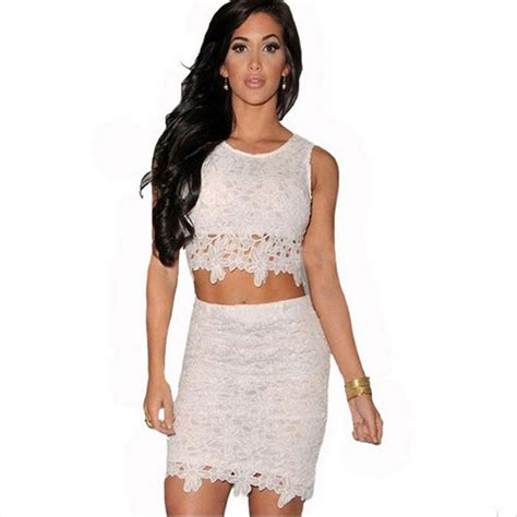 pics for gt crop top and high waisted skirt set