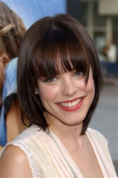 hairstyles with center cut bangs amazing blunt haircut for bob hairstyles pretty designs