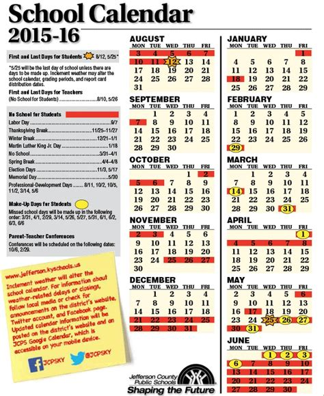 Bullitt County Schools Calendar What You Need To For The Day Back For Jcps 89