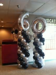 60th birthday balloon decorations