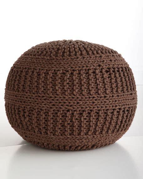 cable knit pouf cable knit pouf