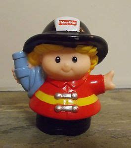 fisher price  people fireman sarah fire fighter