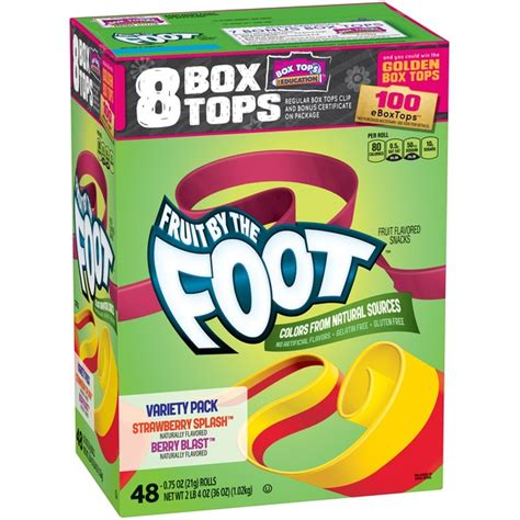 fruit by the foot nutrition facts for betty crocker fruit by the foot