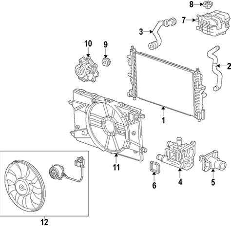 2011 chevy cruze cooling system diagram cooling system for 2011 chevrolet cruze