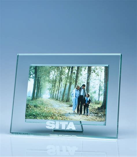 jade glass photo frame for 4 quot x 6 quot photo h trophymaster uk